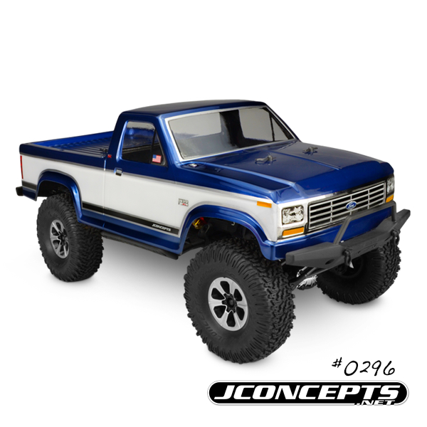 JConcepts 1984 Ford F-150 - Trail / Scaler body (fits Vaterra and Axial 1.9
