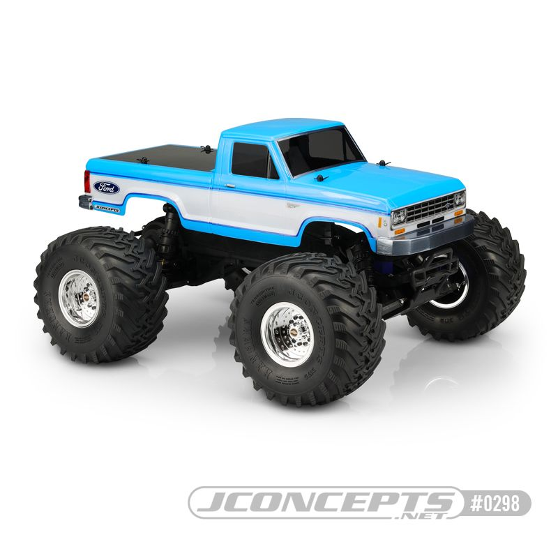JConcepts 1985 Ford Ranger Traxxas Stampede - Stampede 4x4 body