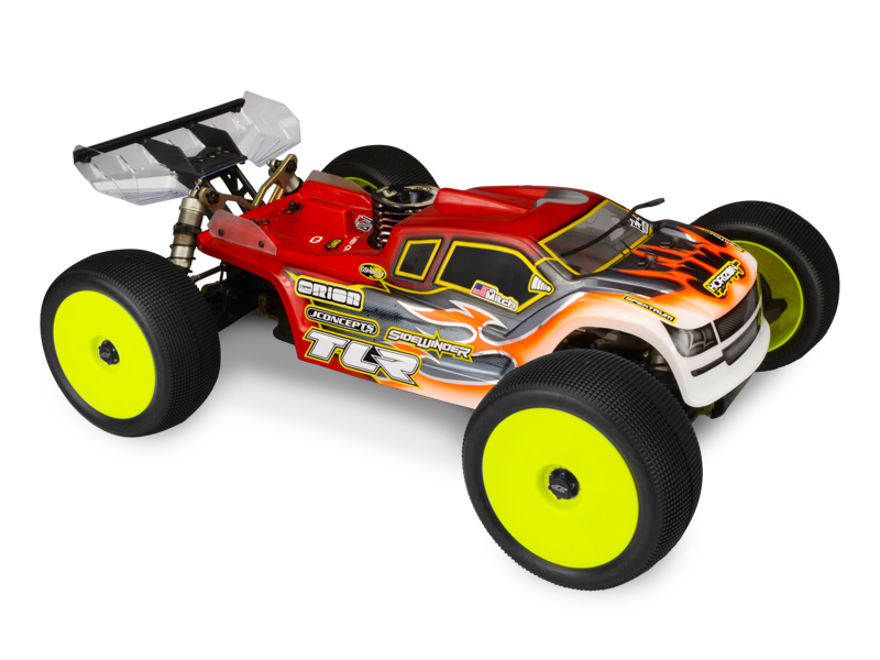 JConcepts Finnisher - TLR 8ight-T 4.0, ROAR National Champion body (Fits - TLR 8ight-T 4.0)