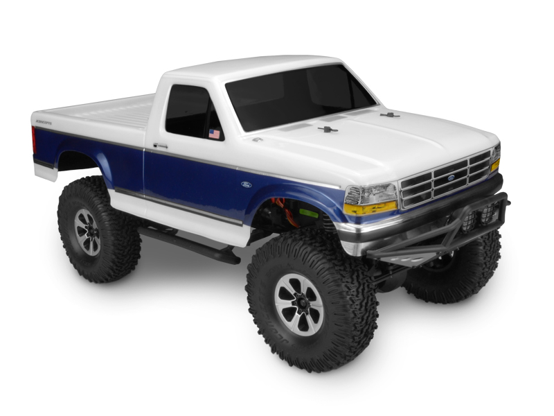 JConcepts 1993 Ford F-250 Trail / Scale body (Fits - Vaterra and Axial 1.9