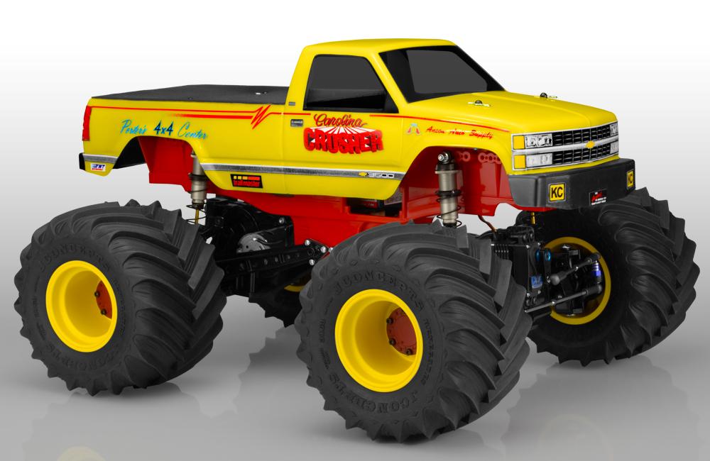 JConcepts 1988 Chevy Silverado Monster Truck Body - (7
