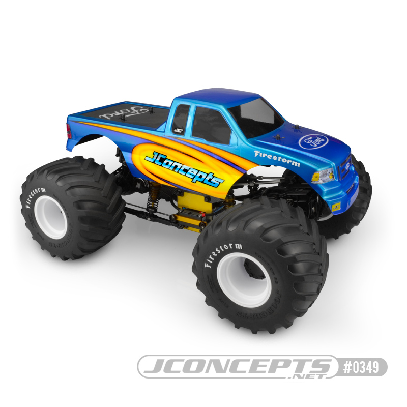 JConcepts 2008 Ford F-150 SuperCab, MT body