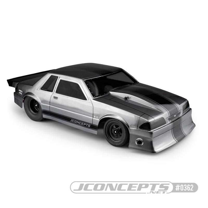 JConcepts 1991 Ford Mustang - Fox body (10.75 width & 13 wheelbase)