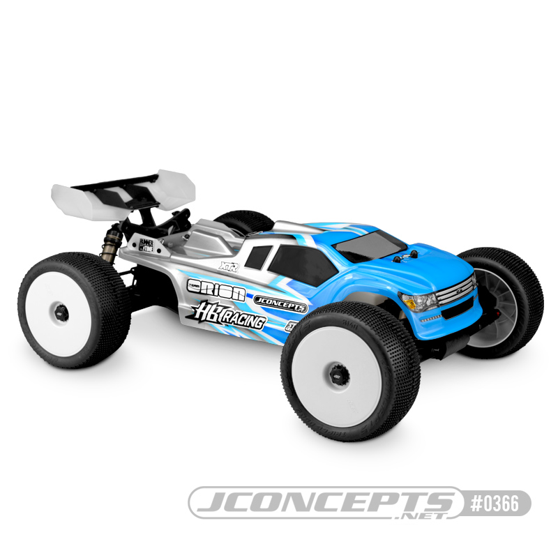 JConcepts Finnisher - HB Racing D817T (Fits - HB Racing D817T w/ #HB204425 front shock tower)