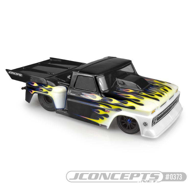JConcepts 1966 Chevy C10 step-side w/ ultra rear wing (Fits - 1