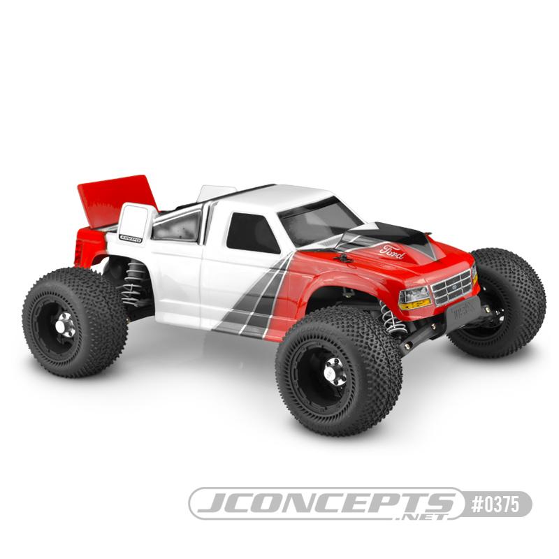 JConcepts 1993 Ford F-150 - Rustler VXL body w/rear spoiler