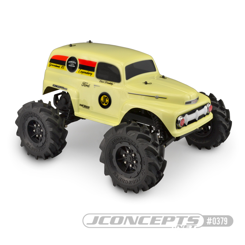 JConcepts 1951 Ford Panel Traxxas Stampede Body