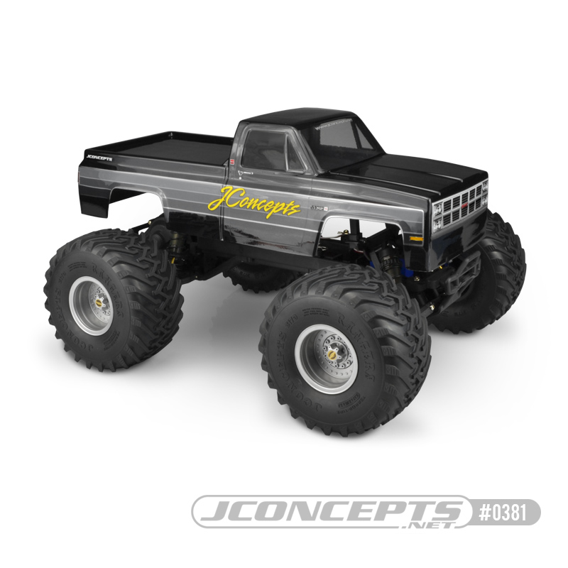 JConcepts 1982 GMC K2500 Traxxas Stampede body (Fits - Traxxas Stampede & Tamiya Clod Buster) (7