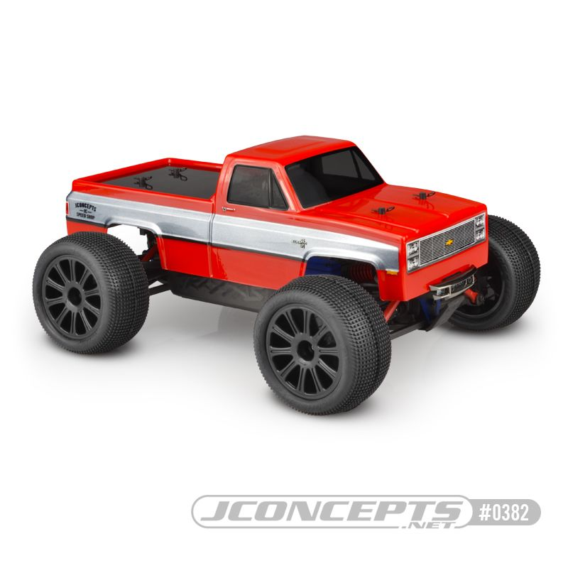 JConcepts 1982 GMC K10 Traxxas 1/16th E-Revo body