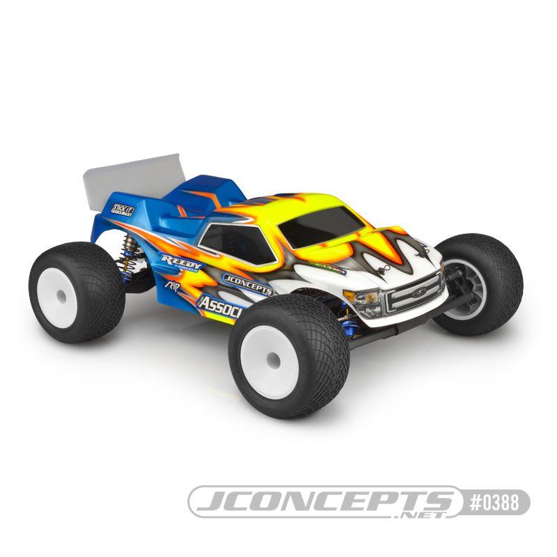 JConcepts Finnisher - T6.1 / YZ2-T body w/ rear spoiler