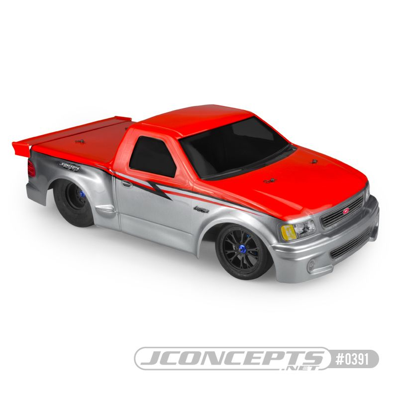 "JConcepts 1999 Ford F-150 Lightning body (Fits - 11.00"" width &"