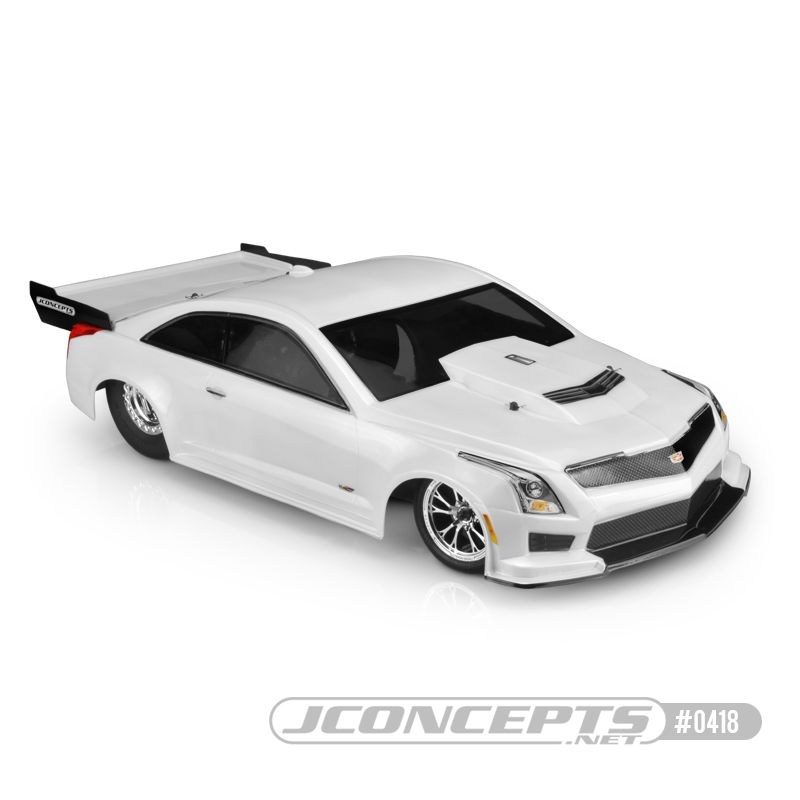 JConcepts 2019 Cadillac ATS-V, Street Eliminator body (Fits - Custom SCT chassis, 11.50