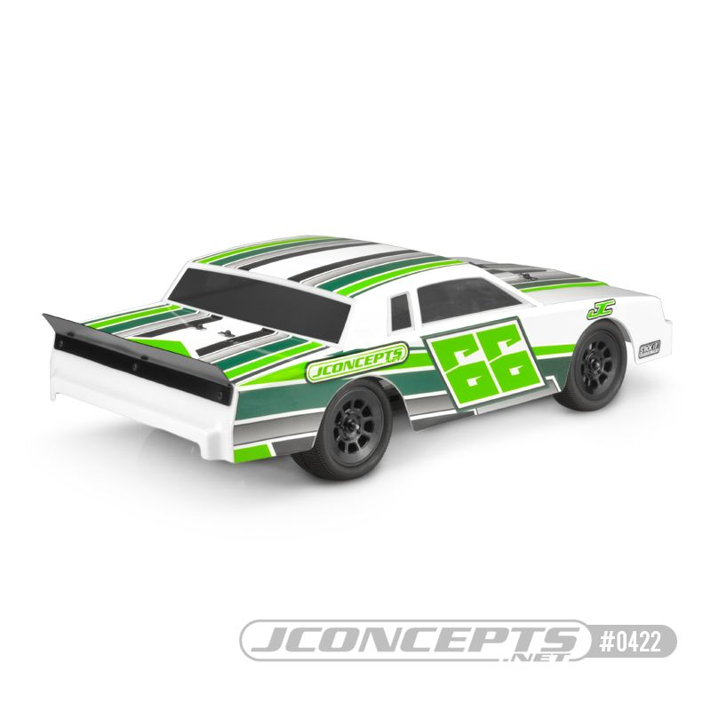 JConcepts 1987 Chevy Monte Carlo - Street Stock body (Fits - 10.00