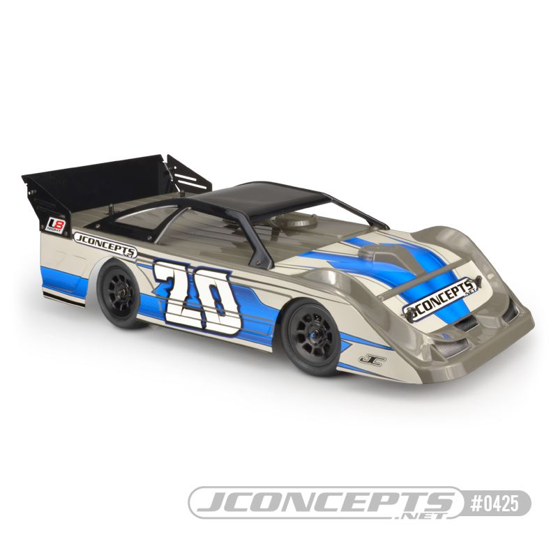 "JConcepts L8D - ""Decked"" 10.25"" wide 1/10th Late Model body w/ r"