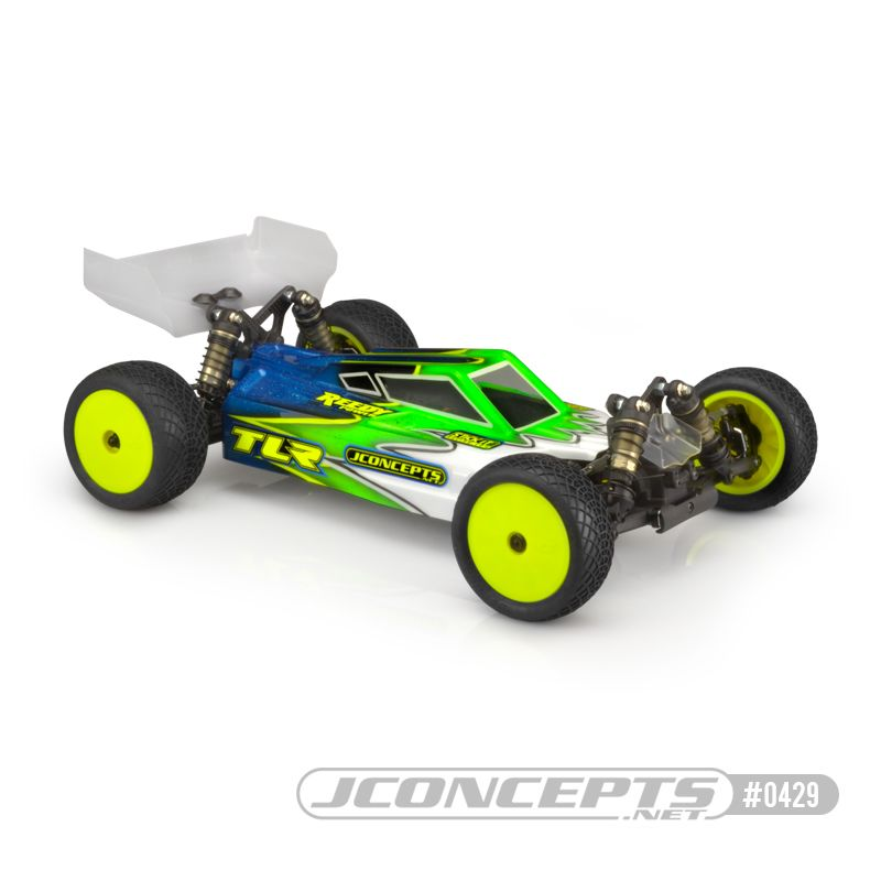 JConcepts S2 - TLR 22X-4 w/ S-Type wing - light-weight