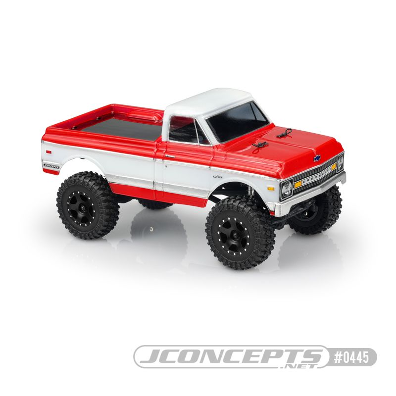 JConcepts 1970 Chevy K10, Axial SCX24 body