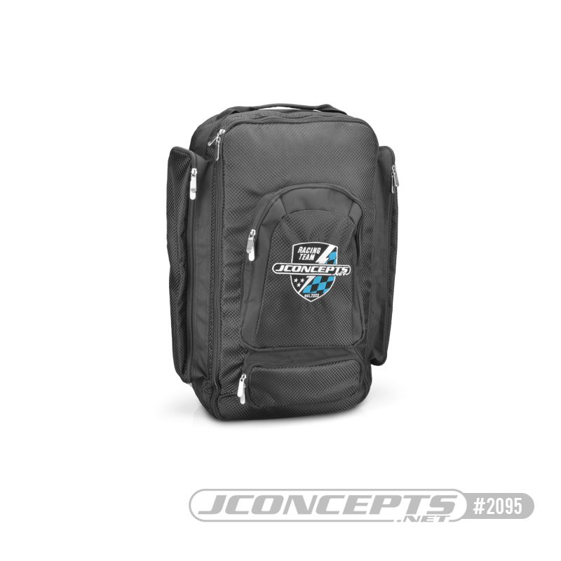 JConcepts Scale and Street Eliminator backpack - (Fits - complete 1/10th Scale truck, SCT, Street Eliminator or similar sized vehicles)