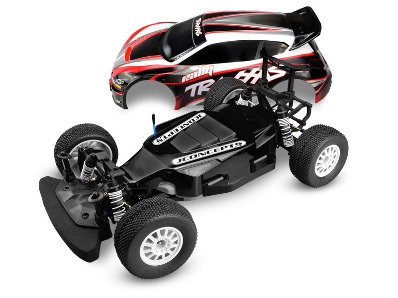 JConcepts Illuzion - Traxxas Rally - over-tray - protects chassis from excessive debris