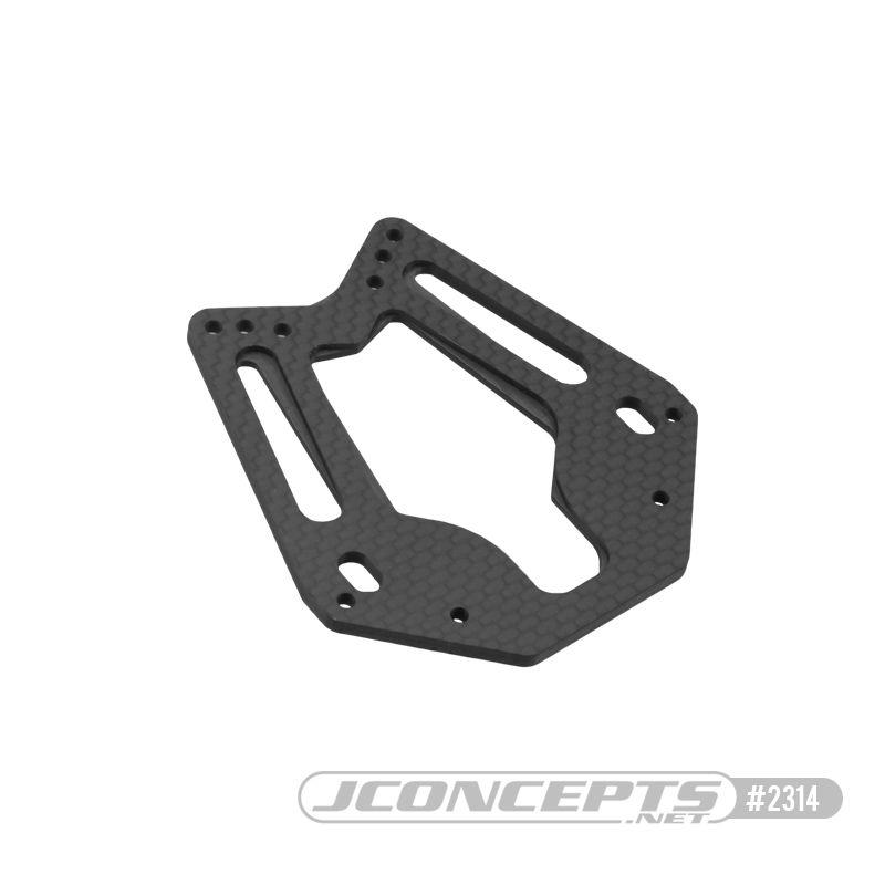 JConcepts RC10T 3.0mm Carbon Fiber front shock tower - team truck edition