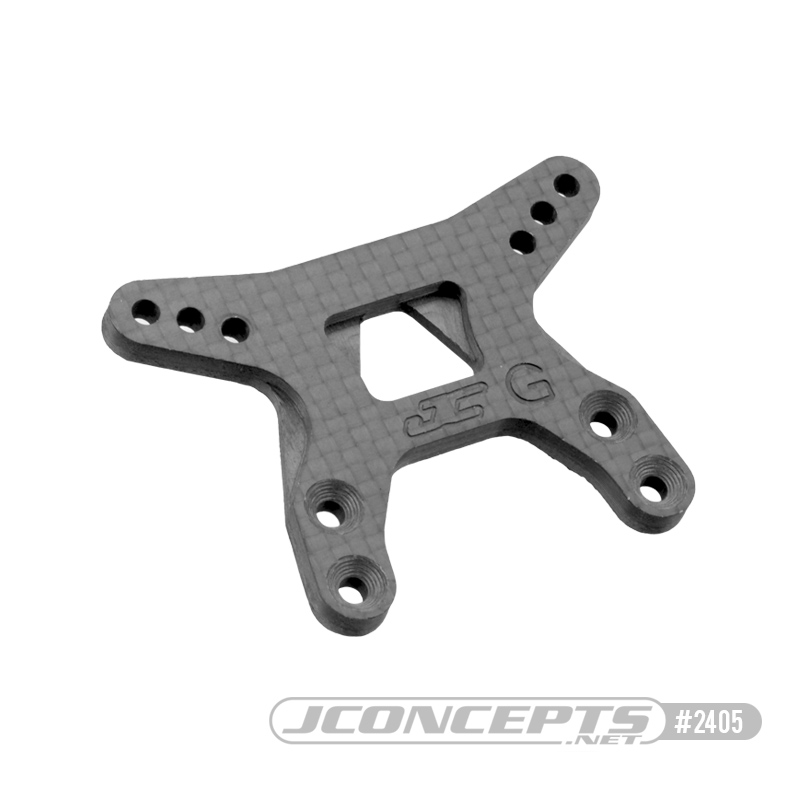 JConcepts Carbon Fiber Gullwing Arm Front Shock Tower (B6.1)