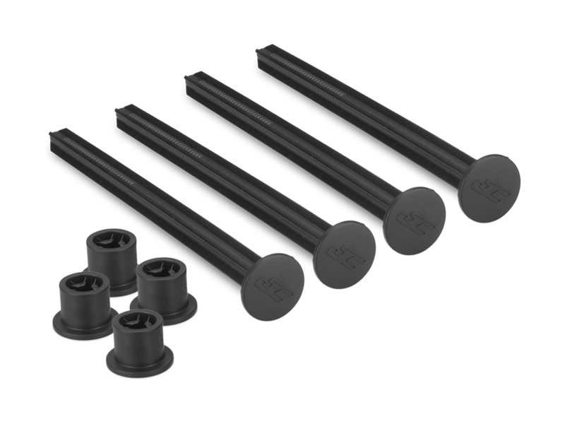 JConcepts 1/8th off-road tire stick - holds 4 mounted tires (black) - 4pc.