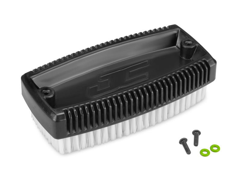 JConcepts Wash Brush With Mounting Screws - Black