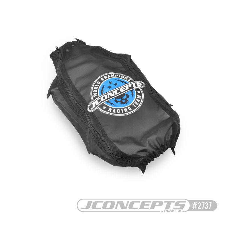 JConcepts Slash 4x4, mesh, breathable chassis cover (Fits - Traxxas Slash 4x4, low CG chassis)