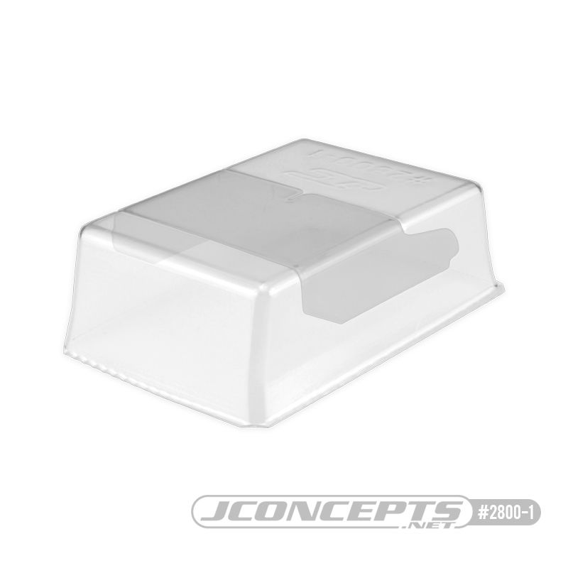 JConcepts F2I 1/8th buggy wing polycarbonate center divider (Fits - 2800 F2I rear wing)