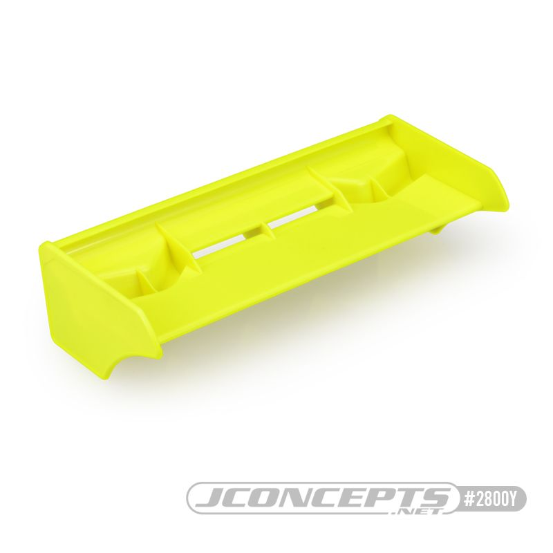JConcepts F2I 1/8th buggy | truck wing, yellow