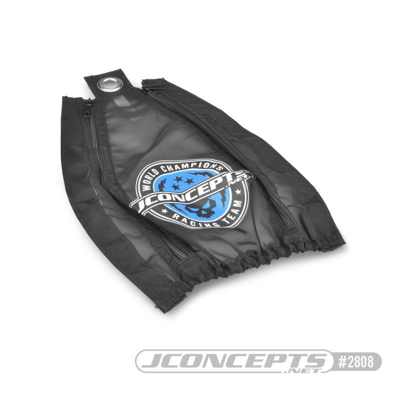 JConcepts Rustler 2wd, mesh, breathable chassis cover