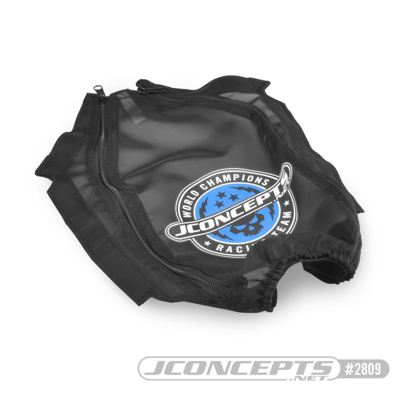 JConcepts Rustler 4x4, mesh, breathable chassis cover (Fits - Traxxas 4wd Rustler vehicles)