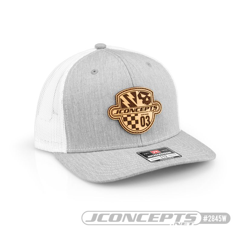JConcepts Destination hat - round bill, mesh, heather