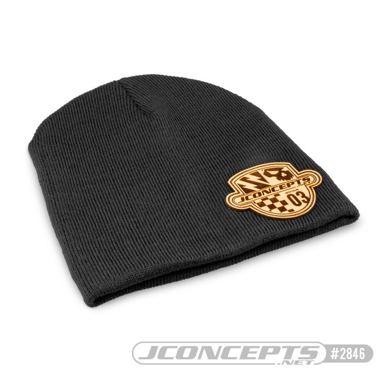 JConcepts Destination knit beanie cap - black