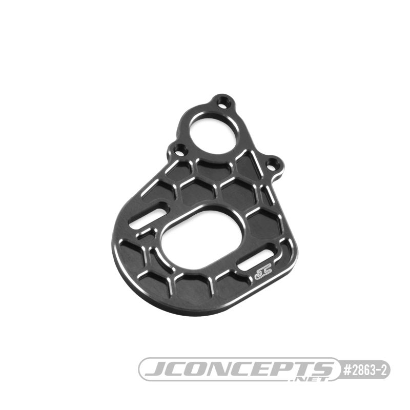 JConcepts - Axial, AX10 - SMT10 transmission motor plate, black