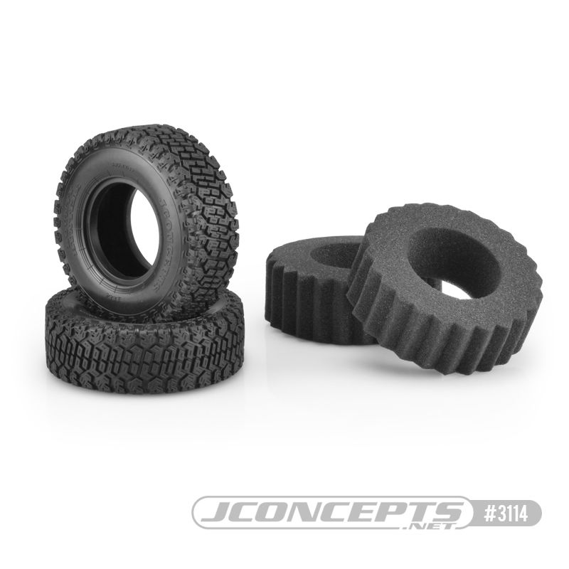 "JConcepts Bounty Hunters - green compound, 3.93"" O.D. - Scale Co"