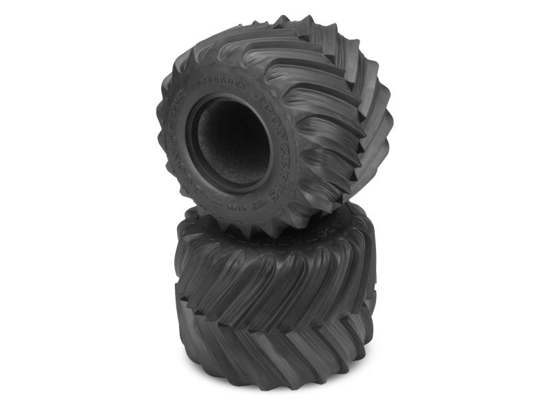 JConcepts Renegades Monster Truck Tire - Blue Compound