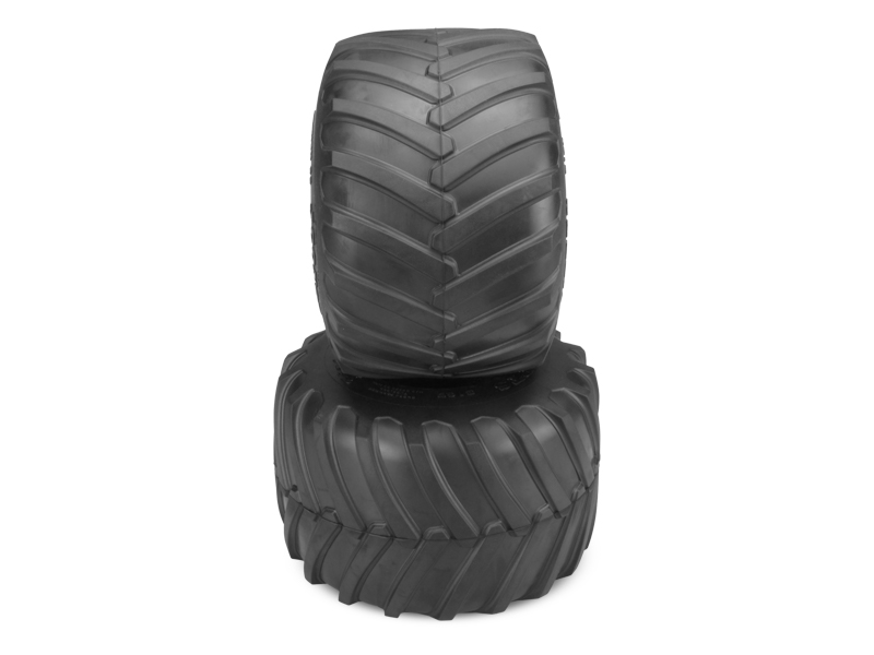 JConcepts FireStorm Monster Truck Tire - Blue Compound