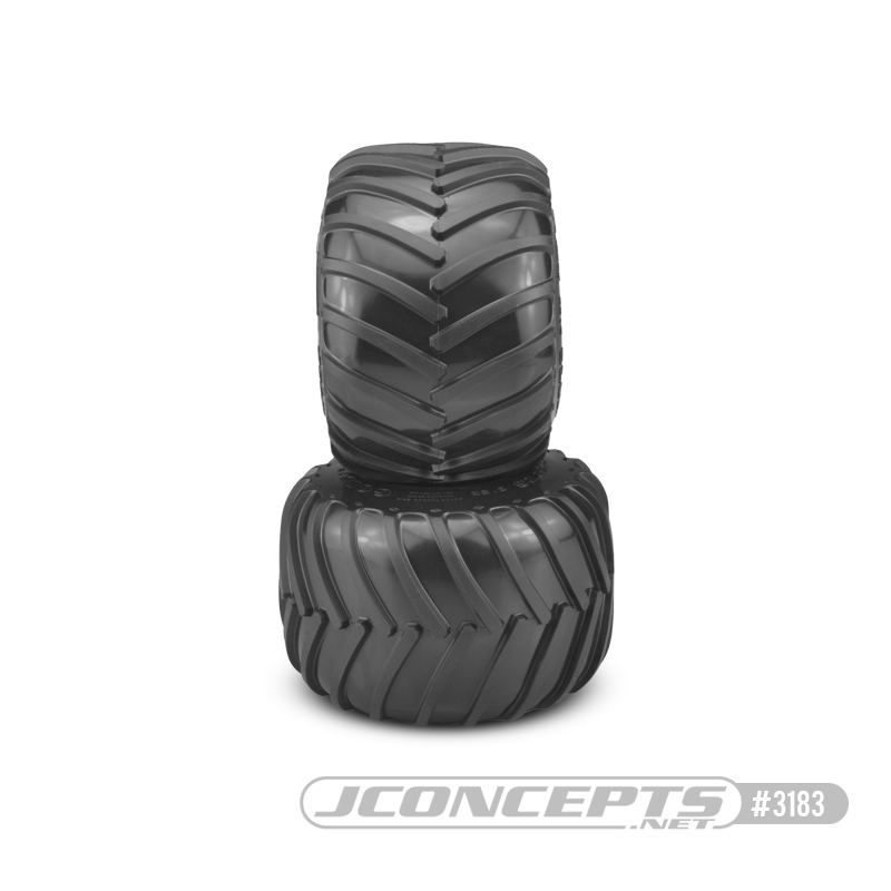 JConcepts Golden Years - Monster Truck tire - gold compound (Fits - #3377 2.6 x 3.6