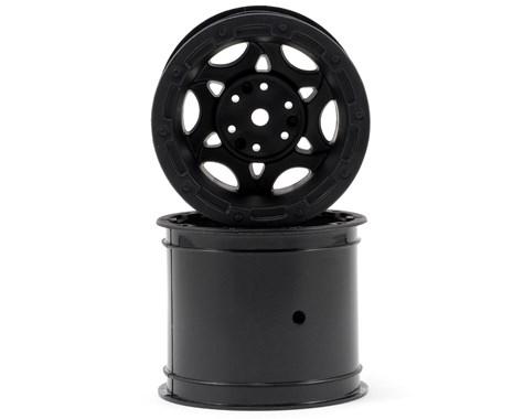 JConcepts Tense - Rustler / Stampede (Electric) rear wheel - (black w/ cap) - 2pc.