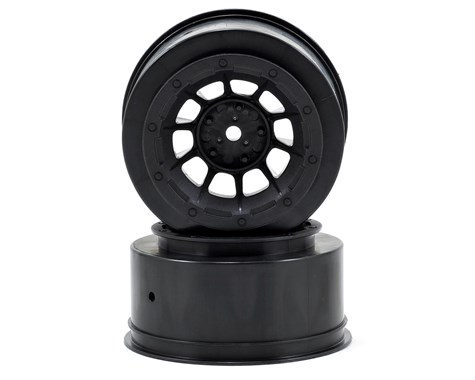 JConcepts Hazard - Slash 2wd front wheel - (black) - 2pc.