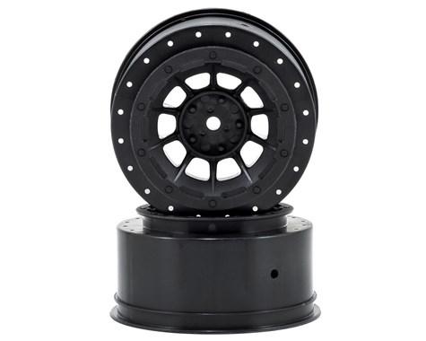 JConcepts Hazard - Slash rear, Slash 4x4 F&R wheel - (black) - 2pc.