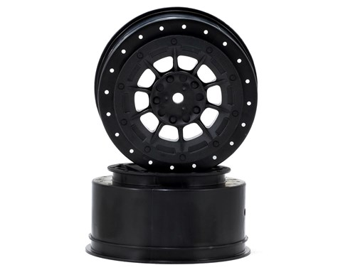 JConcepts Hazard - Losi Ten SCT-E, Ten SCT-Nitro and 22 SCT wheel - black - 2pc.