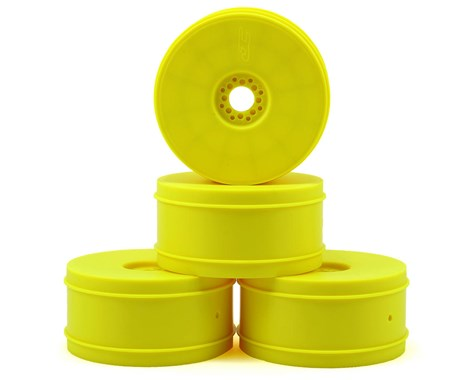 JConcepts Bullet - 1/8th Buggy Wheel - 83mm - 4pc - (Yellow)