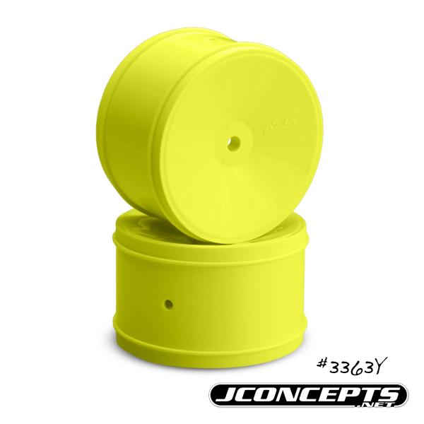 JConcepts Bullet - 60mm B5 | B44.3 | RB6 rear wheel - (yellow)