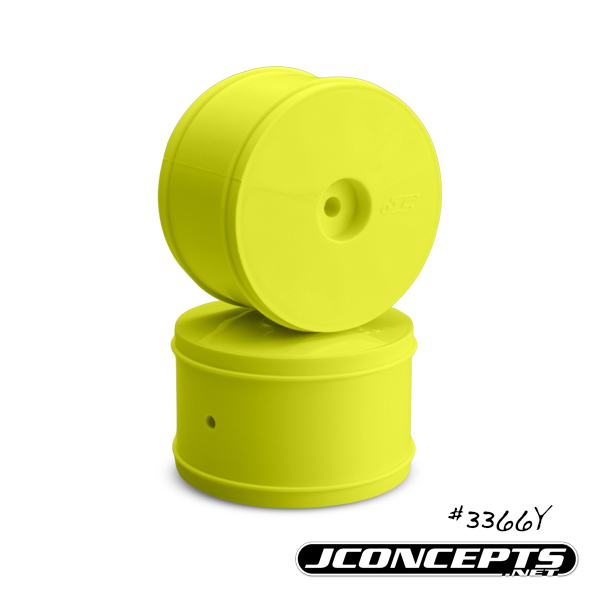 JConcepts Bullet - 60mm TLR 22 | 22-4 rear wheel - (yellow)