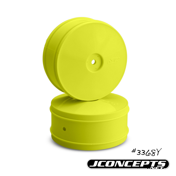 JConcepts Bullet - 60mm Kyosho ZX6 front wheel - (yellow)