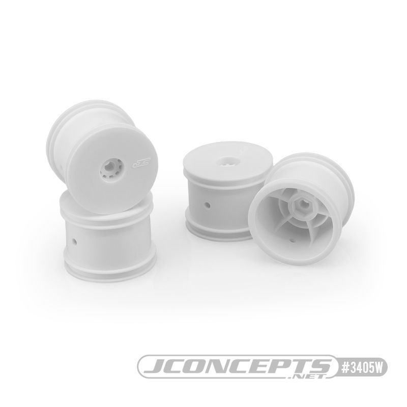 JConcepts Mono - Losi Mini-T 2.0 wheel - white (4)