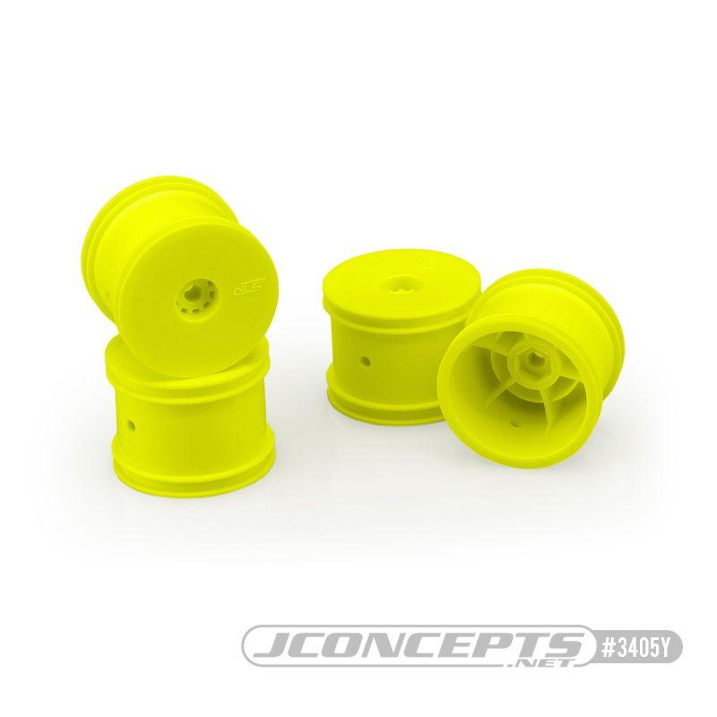 JConcepts Mono - Losi Mini-T 2.0 wheel - yellow (4)