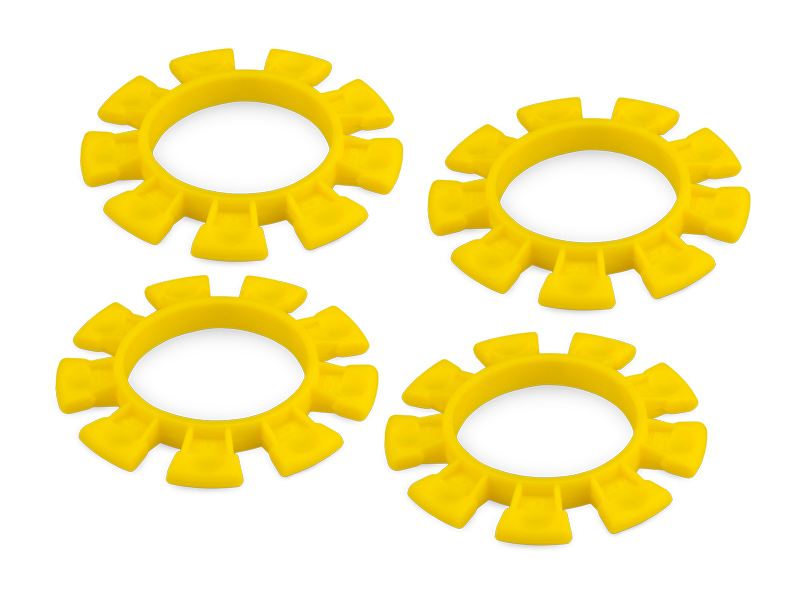 JConcepts Dirt Bands - Tire Gluing Rubber Bands - Yellow