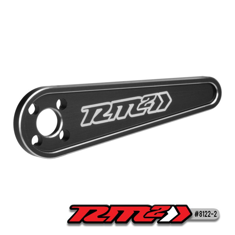 JConcepts RM2 flywheel wrench, black (Fits - 1/8th 4-shoe clutch designs)